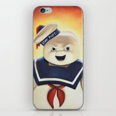 Stay Puft Marshmallow Man iPhone & iPod Skin