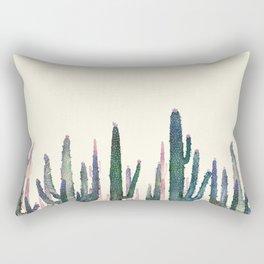 cactus water color Rectangular Pillow