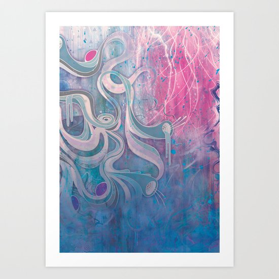 Electric Dreams Art Print