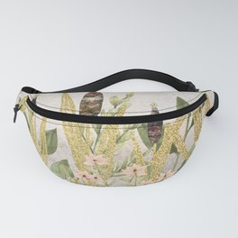 Nature Gold Meadow Fanny Pack