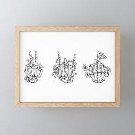 Express Yourself Framed Mini Art Print
