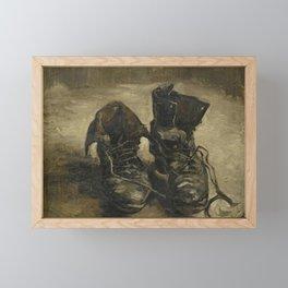 Vincent van Gogh - Boots Framed Mini Art Print