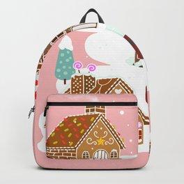 Gingerbread Village Backpack