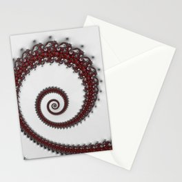 CHRISTMAS SPIRAL Stationery Cards