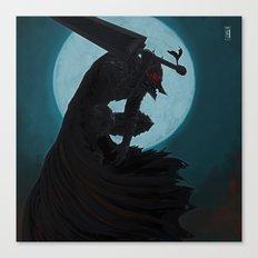 Berserk Armor Canvas Print
