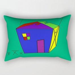 Take Out House Rectangular Pillow