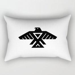 Thunderbird flag - Authentic Hi Def Rectangular Pillow