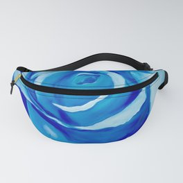 Turquoise Rose Fanny Pack