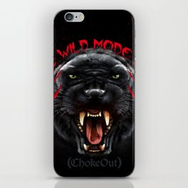 Wild Mode. Bjj, Mma, grappling iPhone Skin