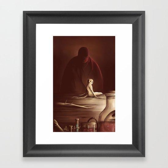 The mandrake Framed Art Print