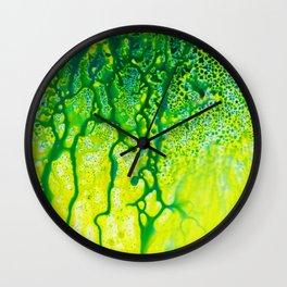 Abstract No. 566 Wall Clock
