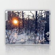 sunset of this winter Laptop & iPad Skin