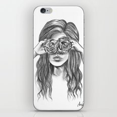 Beauty is within the eye of the beholder - By Ashley Rose Standish iPhone & iPod Skin