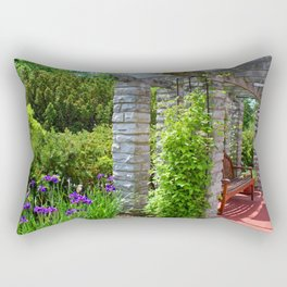 The Quest for Solitude Rectangular Pillow