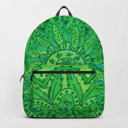 mandala of greenery Backpack