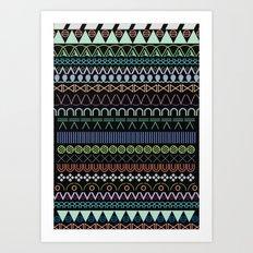 hitam tatam Art Print