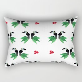 "Collection ""Love Birds"" impression ""Tropico Forest"" Rectangular Pillow"