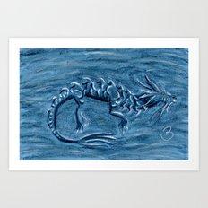 Wind Dragon Art Print