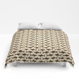 Pattern: Great White Shark ~ Vintage ~ (Copyright 2015) Comforters