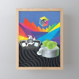 Exactly Two Days Slow Framed Mini Art Print