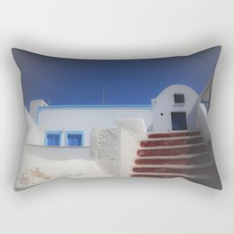 Santorini, Greece 7 Rectangular Pillow