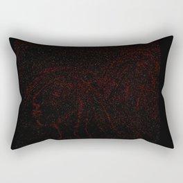 My twin egos Rectangular Pillow