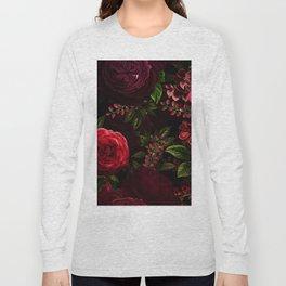 Mystical Night Roses Long Sleeve T-shirt