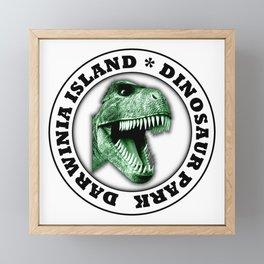 Dinosaur Park Framed Mini Art Print