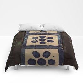 Flower tile and metal Comforters