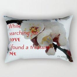 Love Yourself  Merry Christmas Edition Treasure Rectangular Pillow