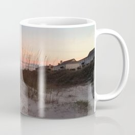 Sunset Behind the Sea Oats Coffee Mug