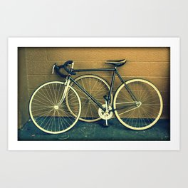 Bike - Skinny Tires Art Print