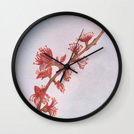 Almond Branch Wall Clock