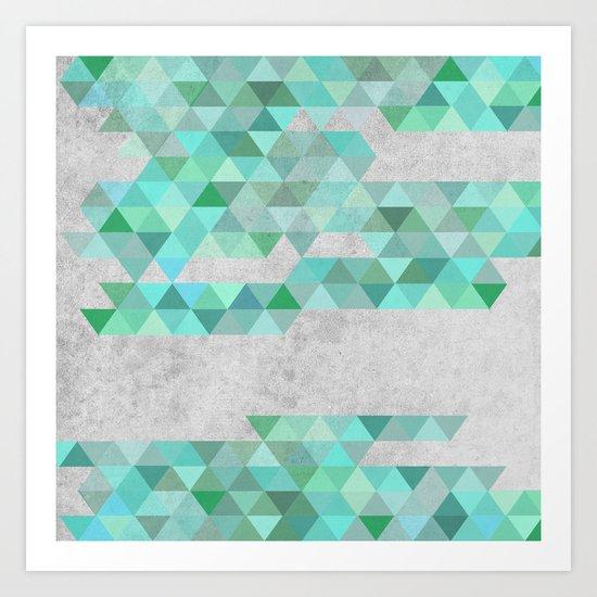 Colorful 10 Art Print