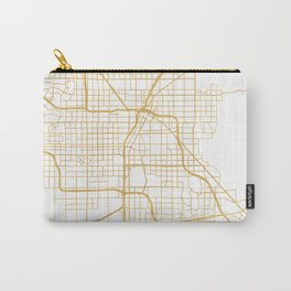 LAS VEGAS NEVADA CITY STREET MAP ART Carry-All Pouch