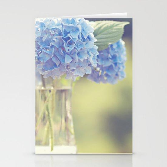 Blue Hydrangea Stationery Cards