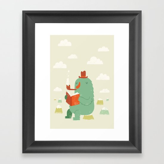 The Cloud Creator Framed Art Print