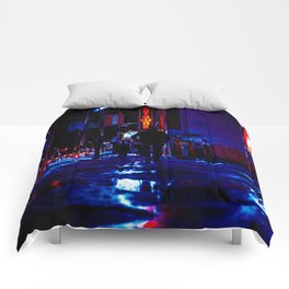 out for the night Comforters