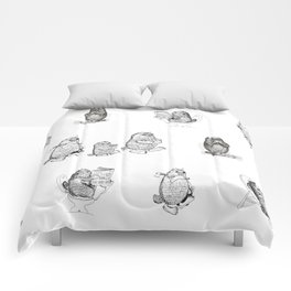 Monsters from Karst evryday life Comforters