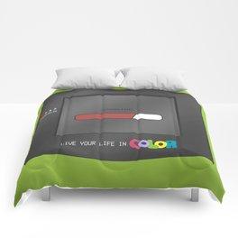 Gameboy Color (green) Comforters