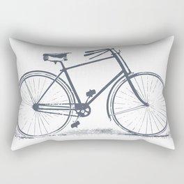 Retro Bike Rectangular Pillow
