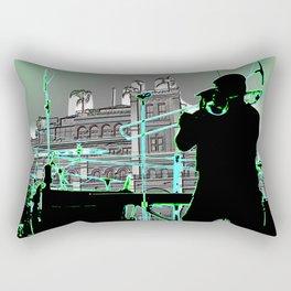 Big Sam (Trombone Man) Rectangular Pillow