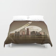 Rocket City Duvet Cover