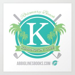 Rosemary Beach Kerrington Club Art Print