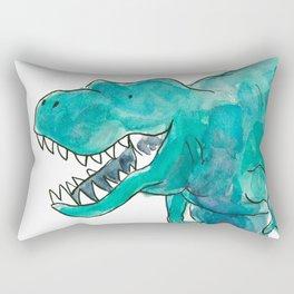 T-Rex Dinosaur Rectangular Pillow