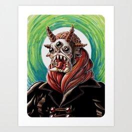 San Monstroso Art Print