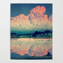 Admiring the Clouds in Kono Poster