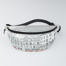 Castle and Clouds Fanny Pack