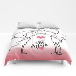 Valentines Day Special Love Couple Comforters