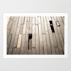 summer floor Art Print